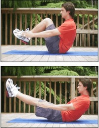 Best Exercise to Lose Belly Fat Ab bal
